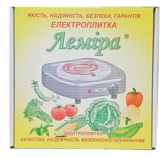 """Электроплитка """"Лемира"""" ЭПЧ-Т 1-1,5 кВт/220В """"Дисковая"""""""