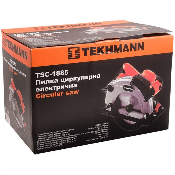 Циркулярная пила Tekhmann TSC-1885 фото7