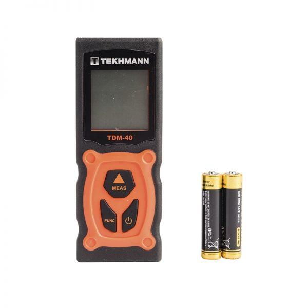 Лазерный измеритель дистанции Tekhmann TDM-40 фото3