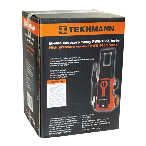 Мойка высокого давления Tekhmann PWB-1655 TURBO фото 7