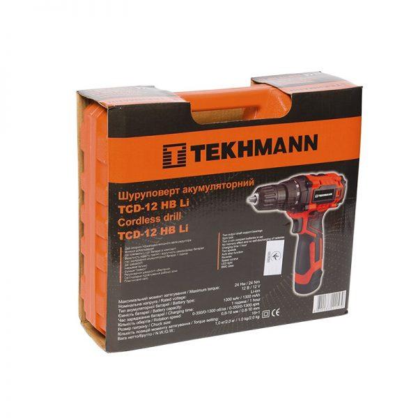 Шуруповерт Tekhmann TCD-12 HB LI фото7