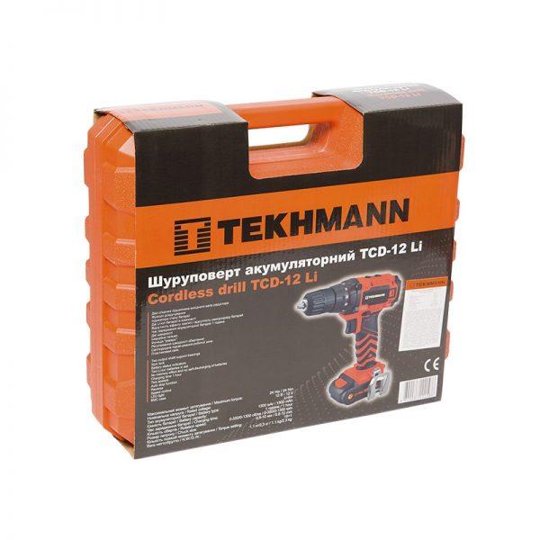 Шуруповерт Tekhmann TCD-12 LI фото8