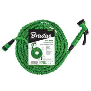 Растягивающийся шланг Bradas TRICK HOSE 15-45 м, зеленый, WTH1545GR-T-L