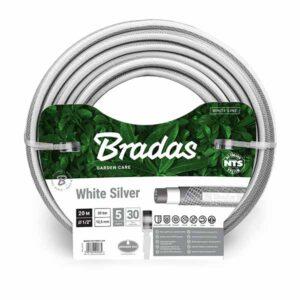 "Шланг для полива Bradas NTS WHITE SILVER 3/4"" 30м, WWS3/430"